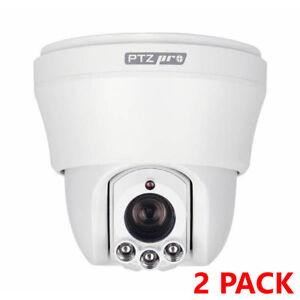 ESP-PTZ10INTC-IR-PTZ-Ceiling-Pan-Tilt-amp-Zoom-Camera-Security-CCTV-2-Pack