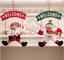Santa-Claus-Door-Hanging-Christmas-Tree-Home-Decoration-Ornaments-Xmas-Gift-H805 miniature 6
