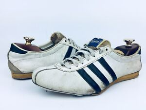 5d652e021189 Image is loading Rare-Vintage-1950s-Adidas-Leather-Track-Spikes-Shoes-