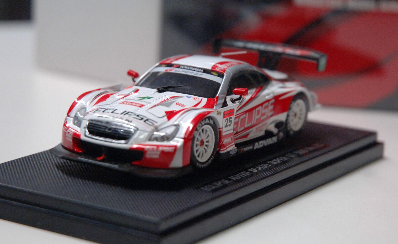 1 43ème LEXUS ECLIPSE ADVAN SC430 SUPER GT 500 N°25 2007 - EBBRO réf 906
