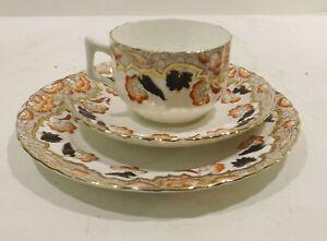 BC-Diamond-England-China-Porcelain-Place-Setting-Cup-u-Teller-Plate-1401
