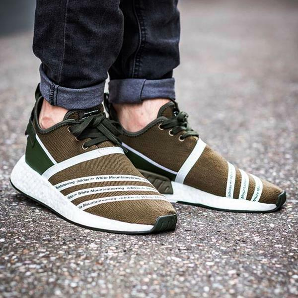 Adidas WM NMD R2 PK size 11. White Olive. White 11. Mountaineering. CG3649. ultra boost 08f91d