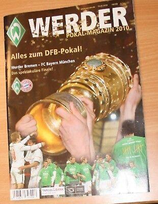 Werder Bremen Pokal Magazin Alles Zum Dfb Pokal 2010 Bayern Neu Ungelesen So Effektiv Wie Eine Fee