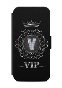iPhone-Letra-V-FUNDA-FLIP-Cubierta-de-la-caja-sobres-Proteccion-VIP-para-movil