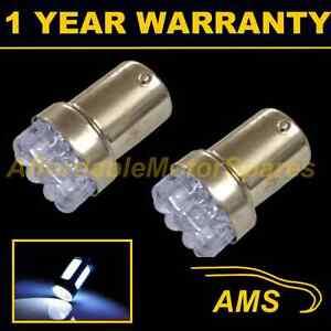 2X-207-1156-BA15s-P21W-Xenon-Blanco-LED-de-domo-de-8-Numero-De-Matricula-Bombillas-NP200702
