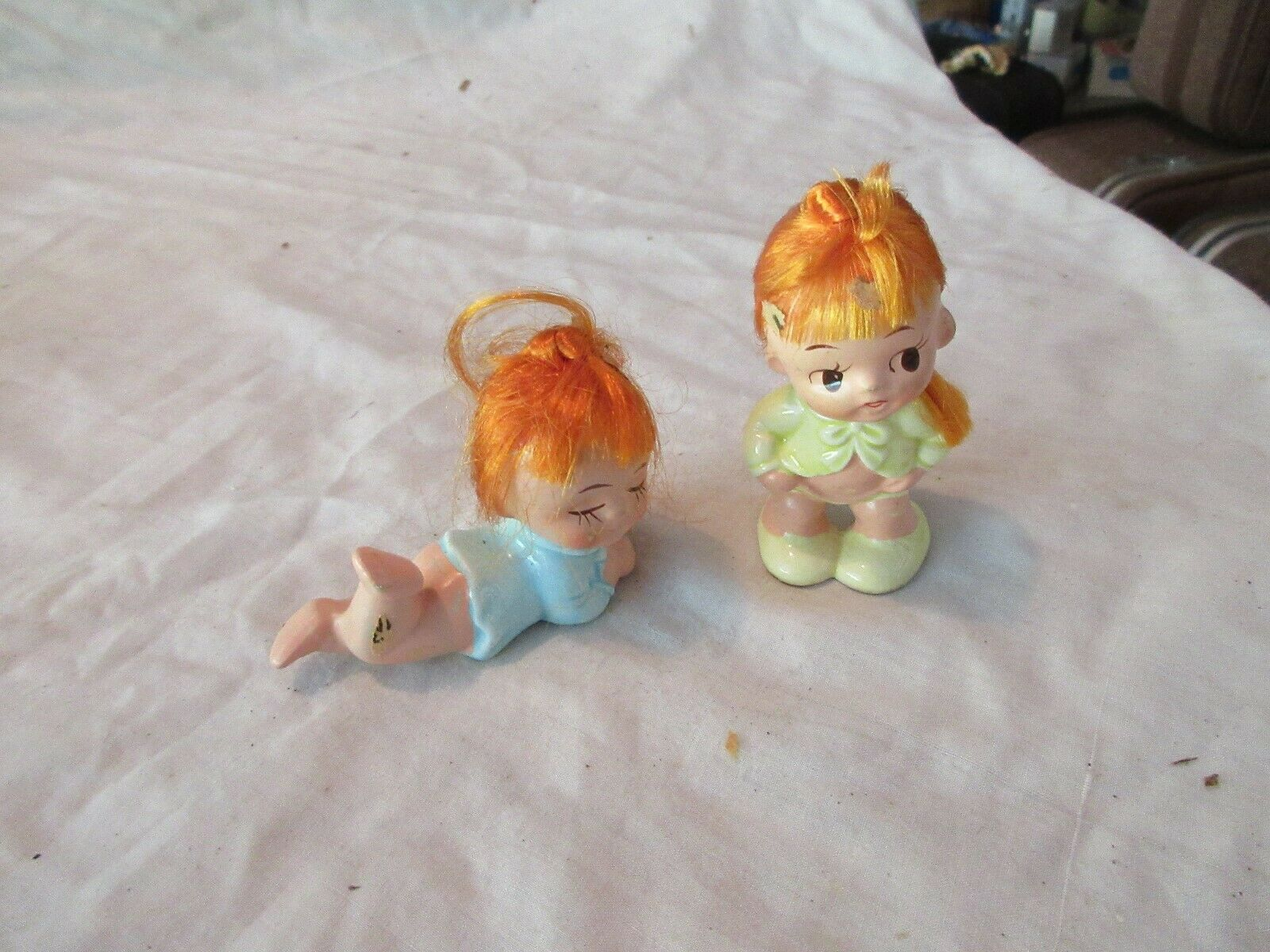 Napcoware , Girls with Red Hair , MInature Doills , Vin