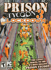 Prison Tycoon 3 Lockdown - Jail Prison Management Sim PC Game NEW