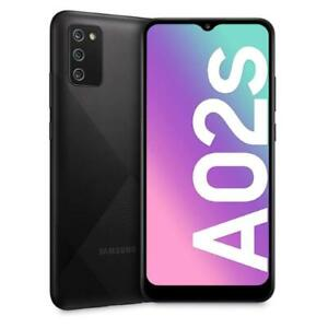 "SAMSUNG GALAXY A02s BLACK 32 GB ROM 3GB RAM DUAL SIM 4G/LTE DISPLAY 6.5"" ANDROID"