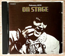 ELVIS ON STAGE  CD BPCD 5077 MADE IN AUSTRALIA