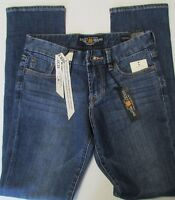 Lucky Brand Jeans The Sweet Jean Straight Contoured Easy Fit Size 0/25 Ankle
