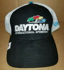 Daytona-500-NASCAR-New-Era-Stretch-Fit-39THIRTY-Cap-Hat-M-L-Mesh-Back