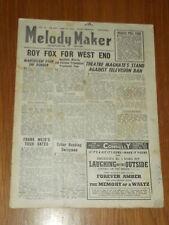 MELODY MAKER 1946 #675 JUN 29 JAZZ SWING ROY FOX FRANK WEIR TABOR JIMMY MESENE
