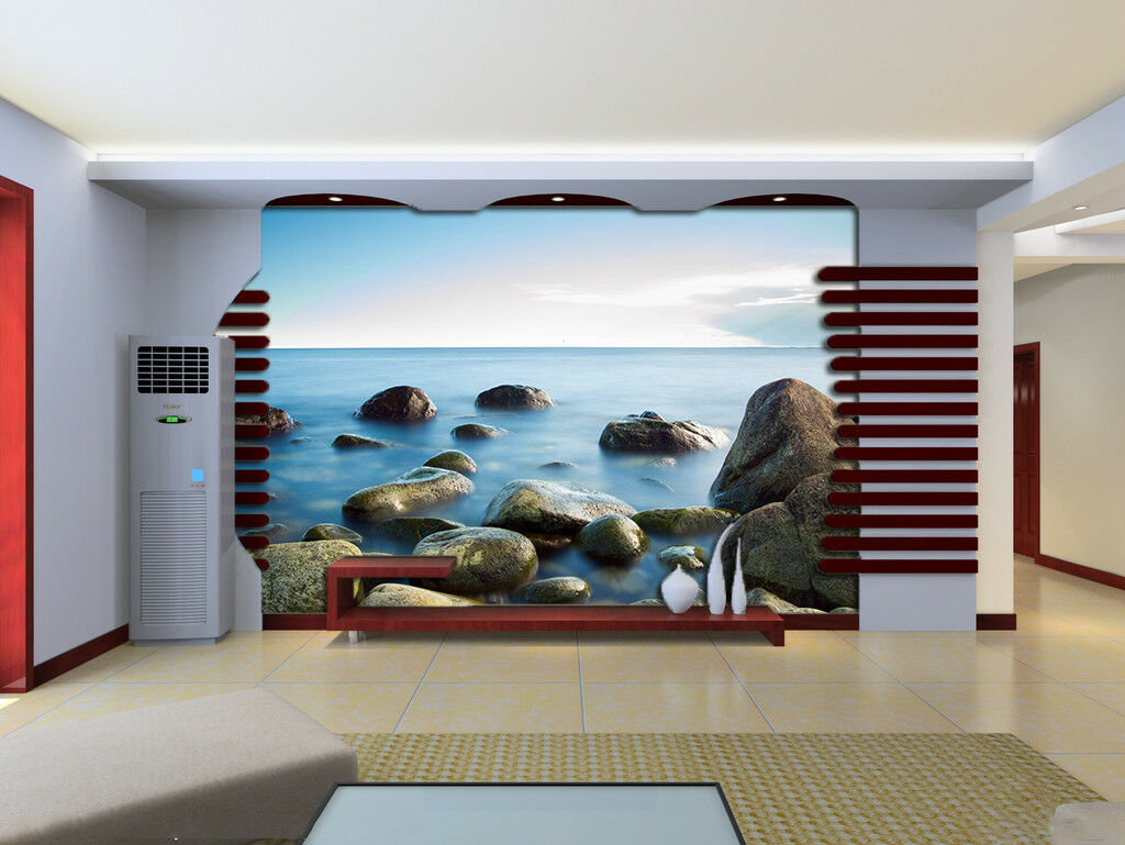 3D Stone Sky 57 Wallpaper Murals Wall Print Wallpaper Mural AJ WALLPAPER UK