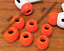 9pc-Memory-Foam-Ear-Tips-Buds-For-Apple-Airpods-Pro-Red thumbnail 1