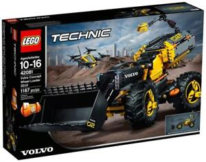 Volvo-Concept-Wheel-Loader-ZEUX-LEGO-TECHNIC-42081-1167-pieces-NEW-SEALED