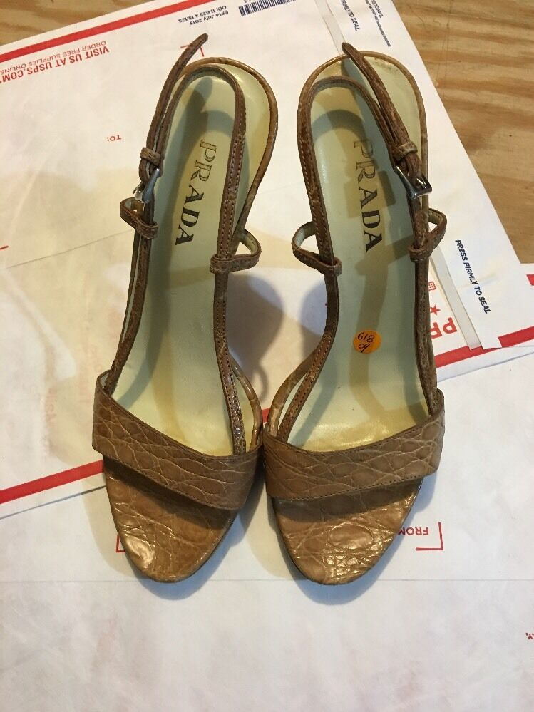 PRADA Strappy Sandals Size 35 1 5