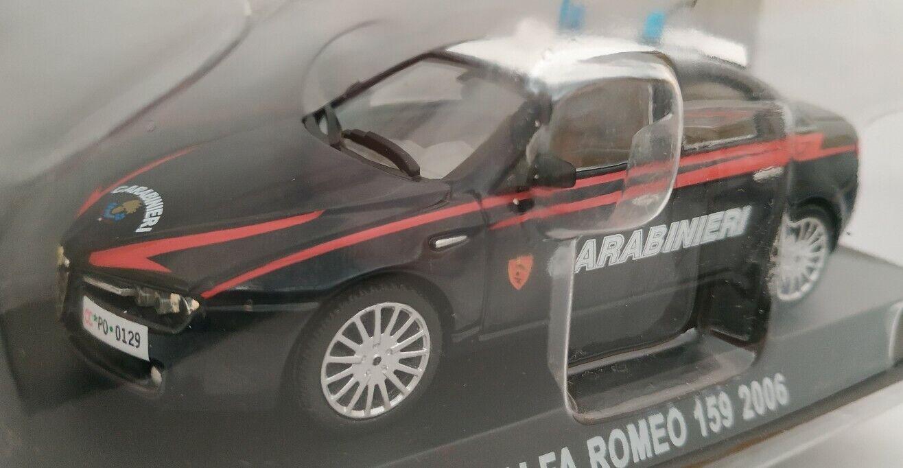 tienda de bajo costo 1 43 ALFA ALFA ALFA ROMEO 159 POLICIA ITALIANA CocheABINIERI COCHE DE METAL A ESCALA  barato