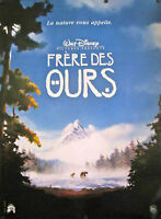 Brother Bear Original Disney French Movie Poster 69 X 47 Rolled D/s