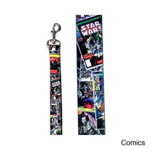 "Platinum Pets Star Wars Comic Dog Leash 3//4/"" x 6 ft."