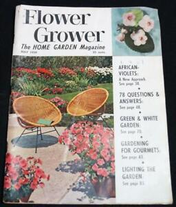 Flower Grower The Home Garden Magazine May 1959 Vintage Gardening