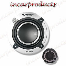 "Vibe Slick 5C V5 5.25"" Componenti Kit 2 way Auto Altoparlante Audio 80 Watt RMS"