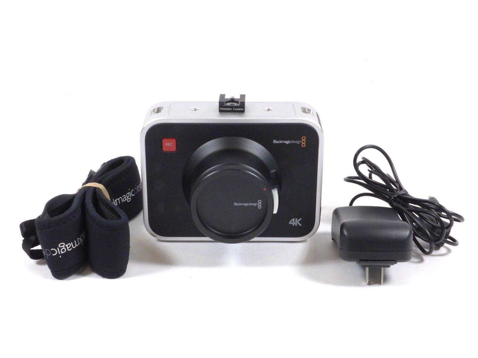 Blackmagic Design Production Camera 4k Ef Mount Camcorder Black For Sale Online Ebay