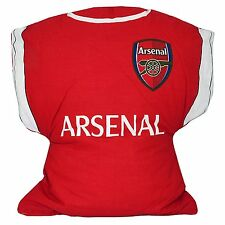 Official ARSENAL FOOTBALL CLUB KIT Super Soft Cushion Bed Pillow Boys Kids Gift