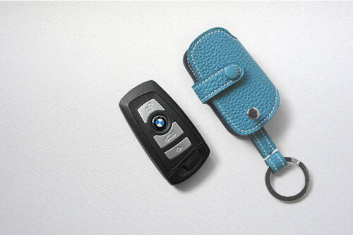 leather Remote Key Fob Cover For BMW 5,7 series togo leather