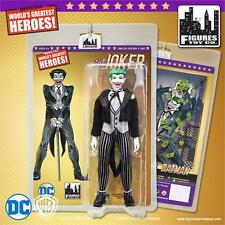"THE JOKER 8"" Figure Black Costume FTC Mego-DC Comics 2016"
