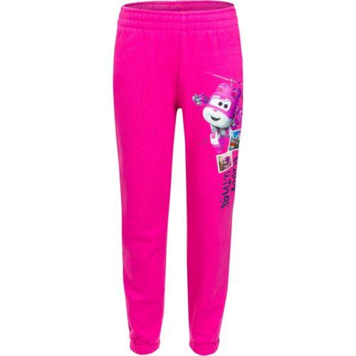 Fille Short Pantalon Jogging Super Wings Rose Bleu 98 104 110 116 #312