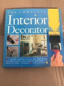 Complete-Interior-Decorator-by-Mike-Lawrence-Hardback-1986
