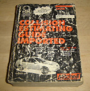 used 1997 mitchell collision estimating guide import ed asian rh ebay com mitchell estimating guide pdf mitchell collision estimating guide online
