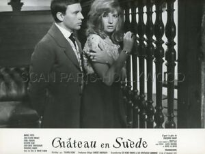 MONICA-VITTI-JEAN-LOUIS-TRINTIGNANT-CHATEAU-EN-SUEDE-1963-PHOTO-ORIGINAL-16