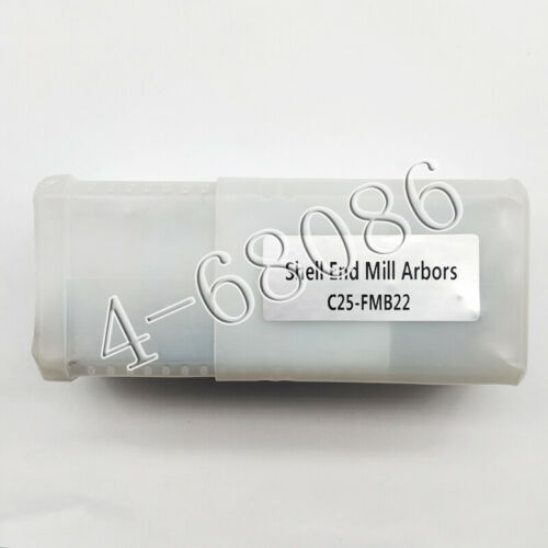 C25-FMB22 25mm Face Mill Arbor Shell straight shank for BAP//EMR//RAP//KM12//SEKT 1P