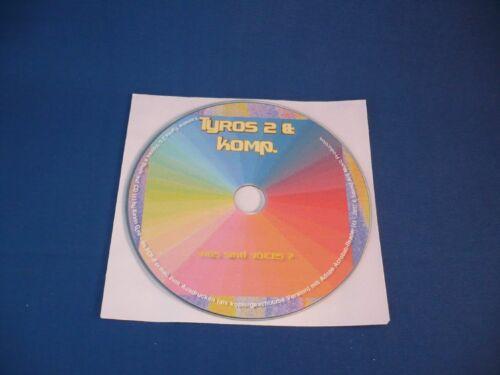 Alles über Voices CD Buch mit Tips /& Tricks von Sound Art !!! YAMAHA TYROS 2