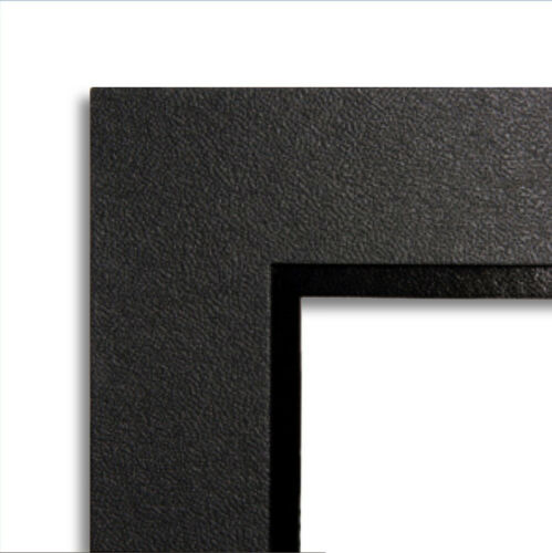 100 pack photo frames Black /& Black Foiled Classic Strut Mounts