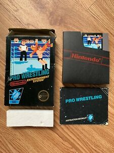 Pro-Wrestling-Nintendo-Entertainment-System-NES-AUTHENTIC-TESTED-5-Screw