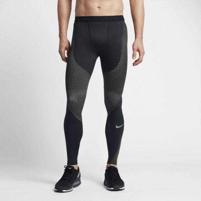 Nike Zonal Strength Tight Fit Black Blue Leggings Running Women/'s Size Small