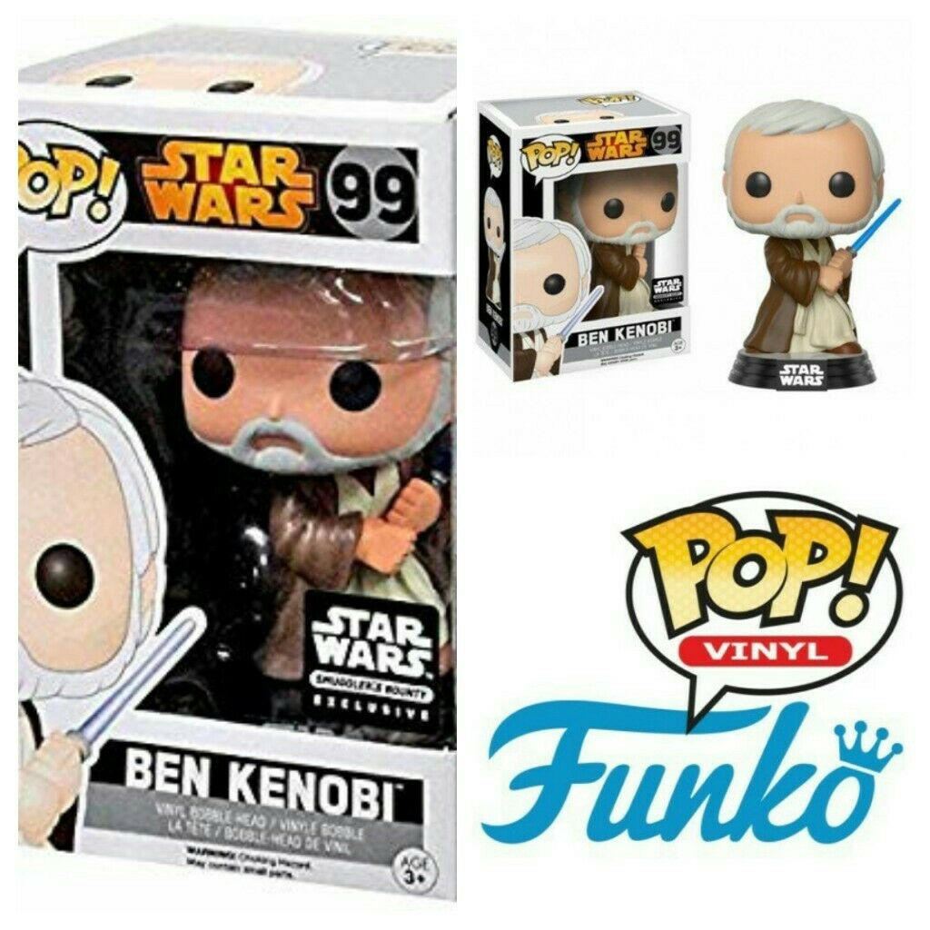 Cantina Ben Kenobi #99 Exclusive Funko Pop Star Wars Smuggler/'s Bounty 8//10