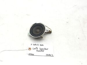 11 12 INFINITI G25 FRONT LEFT DOOR SPEAKER TWEETER OEM 28149JK000