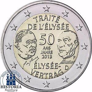 2 Euro Münze Elysee Vertrag Wert Ebay Ausreise Info