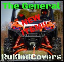 2015-17 POLARIS RZR 1000 The General lee Flag HeadLight Cover's