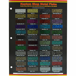 Matte Car Paint Color Chart