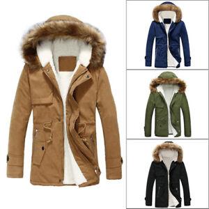 hombre-invierno-abrigo-impermeable-Capucha-Informal-Chaqueta-de-esqui-Parka