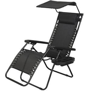 New Zero Gravity Chair Lounge Patio Chairs Outdoor with ...