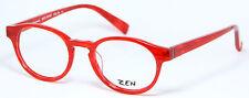 ZEN Germany Original Brille Lunettes Eyeglasses Occhiali Gafas Rot 40065 Panto