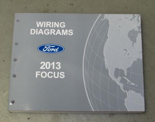 2013 Ford Focus Service Wiring Diagram Manual