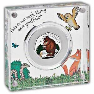 Die Gruffalo Und Maus 2019 UK 50p Silber Beweis Münze