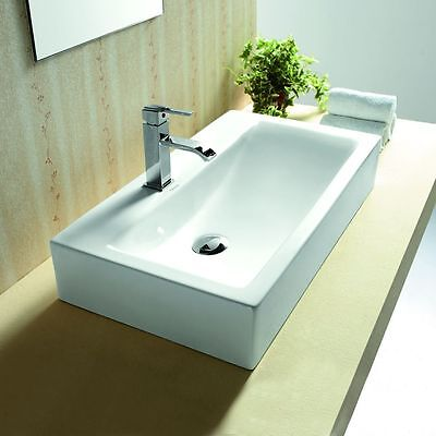 Lux-aqua Waschtisch Waschbecken handwaschbecken zur Wandmontage 4310