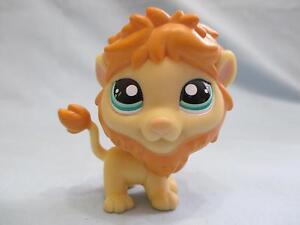 Littlest Pet Shop Lion 1004 Green Eyes Authentic Lps